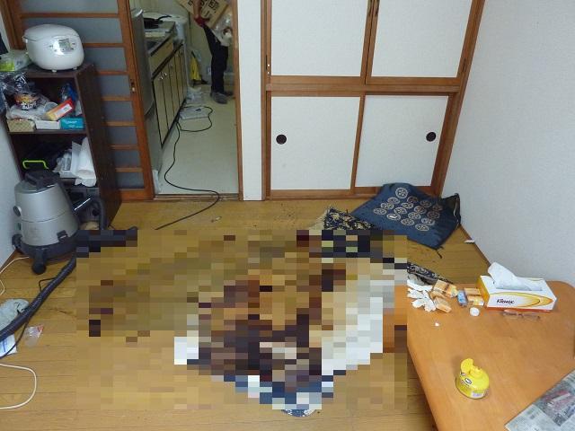 特殊清掃・遺品整理 仙台市青葉区/Sアパート
