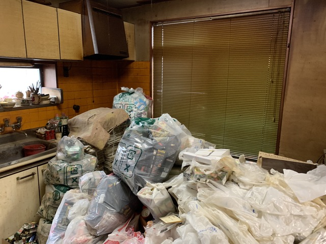 家財整理・ゴミ屋敷清掃 福島県郡山市/K様